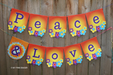 Peace and Love Banner