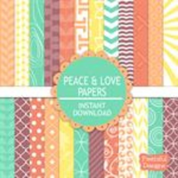 Peace and Love Paper Pack