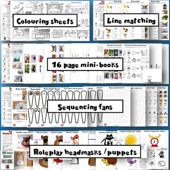 Peace at Last - Activity Pack - Worksheets, Crafts, Games, Flashcards