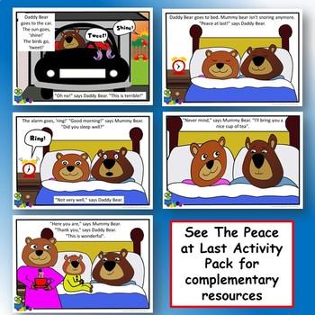 Peace at Last - Simplified Powerpoint Story - EFL / ESL / Literacy
