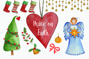 Peace on Earth Clip Art Set