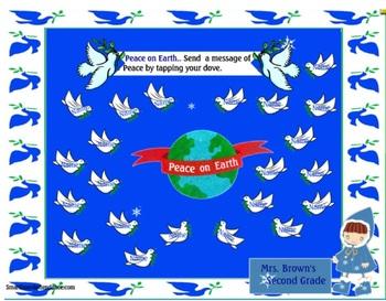 Peace on Earth Smartboard Attendance