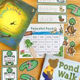 Peaceful Pond Learn + PLAY Calendar