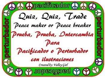 Peacemaker / Peacebreaker: Quiz, quiz, trade Back to school Reglas con imagenes