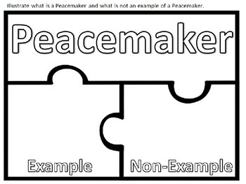 Peacemaker / Peacebreaker: Quiz, quiz, trade  Back to school Rules with Pictures