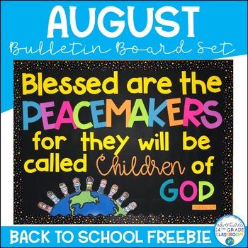 Peacemakers Bulletin Board Set