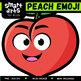 Peach Emoji Clip Art
