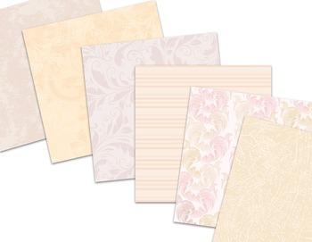 Peach Wedding Digital Paper Pack Printable Peach Pink Background Paper
