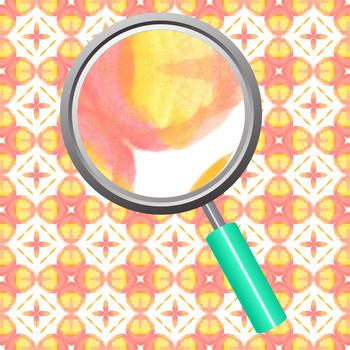 Peachy Orange Watercolor Digital Paper / Background / Pattern Set Clip Art