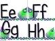 Peacock Alphabet (Word Wall Tags)