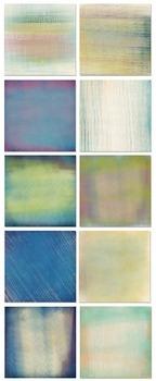 Peacock Textured Digital Paper, Solid Gradient Digital Cardstock, Blended