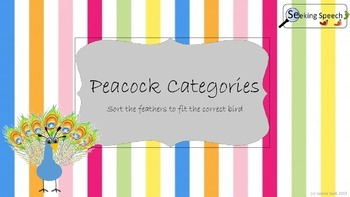 Peacock Categories