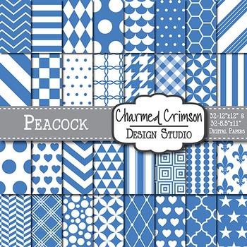 Peacock Digital Paper 1109