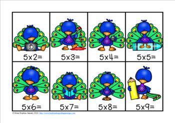 Peacock Multiplication Race