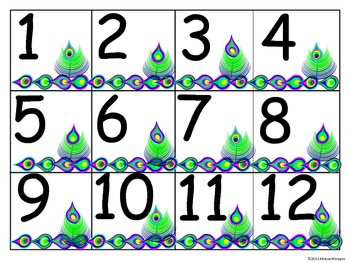 Peacock Numbers