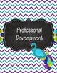 Peacock Purple, Teal, and Green Polka Dot Teacher Binder 2017-2018