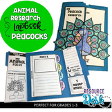Peacock Research Project - A Zoo Animal Research Lapbook