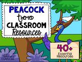 Peacock Theme Decor Pack