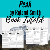Peak by Roland Smith Tri-Fold and Bookmark