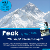 Peak by Roland Smith, Mt. Everest Research Project, CCSS Aligned, Grades 5-8