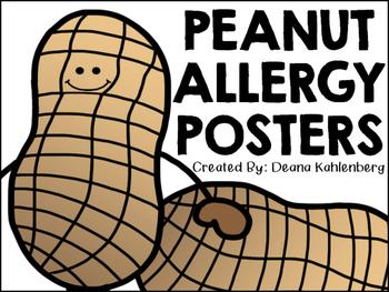 Peanut Allergy Posters