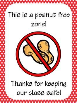 Peanut Allergy Sign