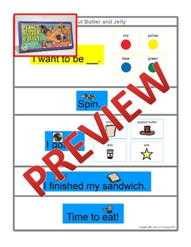 Peanut Butter And Jelly [speech therapy and autism]