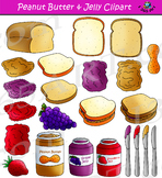 Peanut Butter And Jelly Clipart