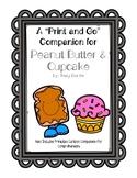 Peanut Butter & Cupcake: A Print and Go Sp/Lg Companion