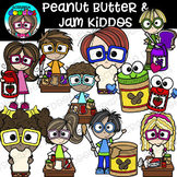 Peanut Butter & Jam Kiddos Clipart {Scrappin Doodles Clipart}