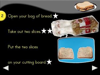 Peanut Butter & Jam Sandwich - Animated Step-by-Step Recipe - VI