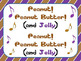 Peanut Butter & Jelly Song:  Critical Thinking, ELL, Singing