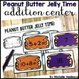Addition to 20 Center: Peanut Butter Jelly Time