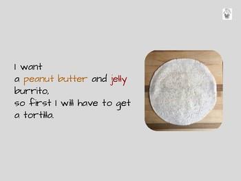Peanut Butter & Jelly Burrito