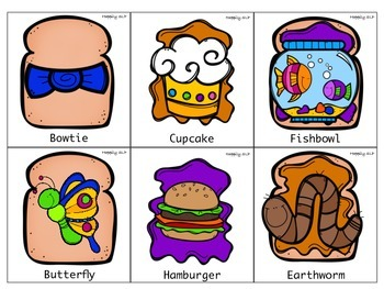 Peanut Butter Jelly Compound Words
