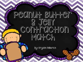 Peanut Butter & Jelly Contractions