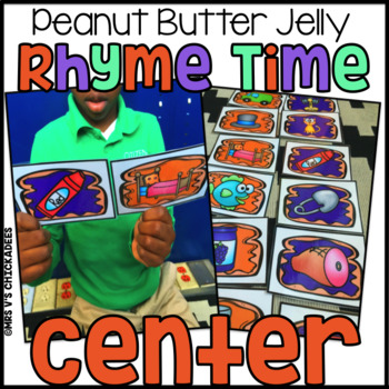 Rhyming Activity & Center Game