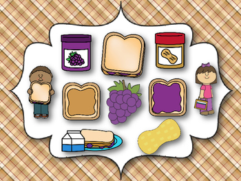 Peanut Butter & Jelly Sandwich Interactive Melodic Reading Game {La} Kodaly