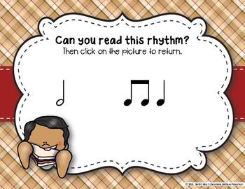 Peanut Butter & Jelly Sandwich Rhythm Reading Game - Ta-a/Half