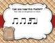 Peanut Butter & Jelly Sandwich Rhythm Reading Game - Tika-ti