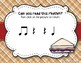 Peanut Butter & Jelly Sandwich Rhythm Reading Game - Ta rest (Kodaly Review)