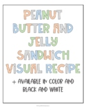 Peanut Butter & Jelly Sandwich Visual Recipe