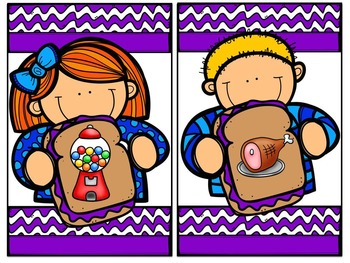 Peanut Butter Jelly Time (Literacy and Math Centers)