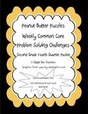 Peanut Butter Math 4 Puzzles CCSS Problem Solving Challeng