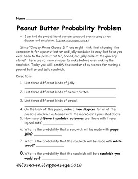 Peanut Butter Probability