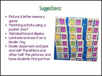 Peanut Butter Sandwich Alphabet Match