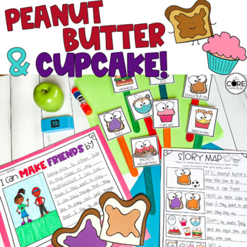 Peanut Butter and Cupcake Read-Aloud Activity