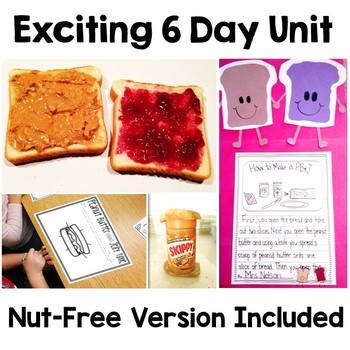 Peanut Butter and Jelly - A How To Writing Unit