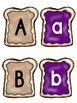 Peanut Butter and Jelly Alphabet Match