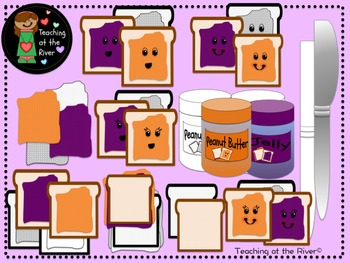 Peanut Butter and Jelly Clip Art